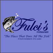 Fulci's Restaurant - The Place That Does All the Fish - Shaun of the Dead T-Shirt