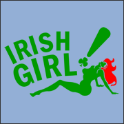 Irish Girl T-Shirt Bada Bing