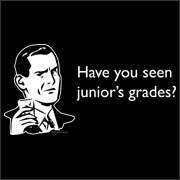 Have You Seen Junior's Grades? Funny Van Halen T-Shirt