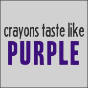 Crayons Taste Like Purple - Funny Greg the Bunny Tardy Turtle  t-shirt