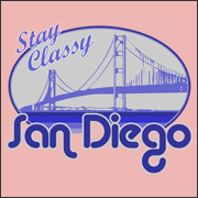 Stay Classy San Diego - Funny Will Ferrell Anchorman Movie T-shirt