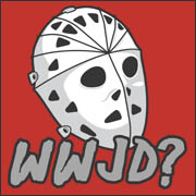 WWJD? What Would Jason Do Friday the 13th horror movie  T-Shirt